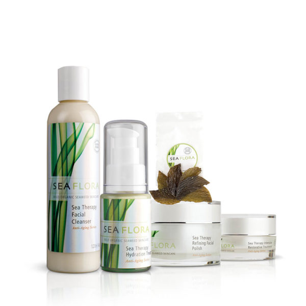 Sea Therapy Anti-Aging Skincare Set by Seaflora