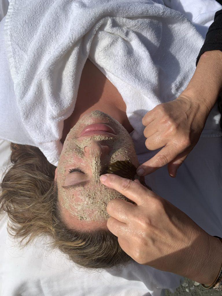 Seaflora seaweed mask