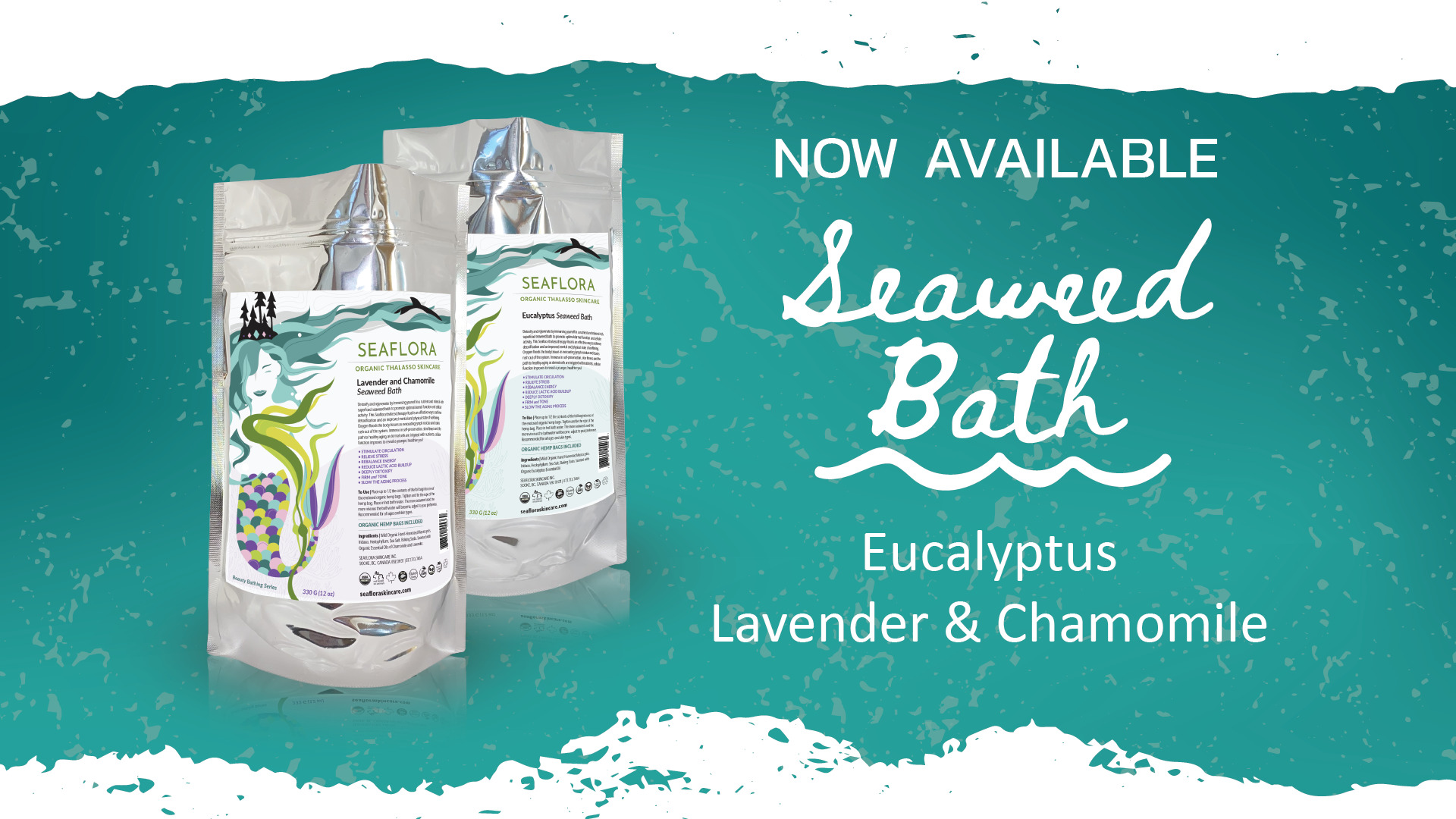 Seaflora's NEW Seaweed Baths